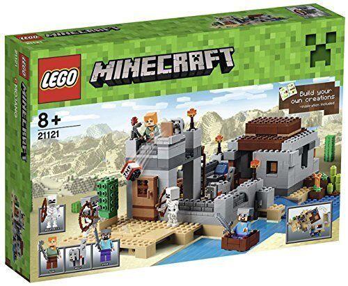 Lego Minecraft™ 21121 Der Wüstenaußenposten Nuovo Confezione Originale Misb