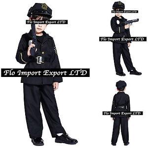 Poliziotto-Travestimento-Carnevale-Bambino-Boy-Police-Costume-Dress-up-POL001
