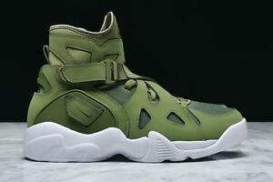 meilleur service 134f6 97ee4 Details about NIKE AIR UNLIMITED DAVID ROBINSON 889013 300 PALM GREEN/WHITE  - NUBUCK/CANVAS