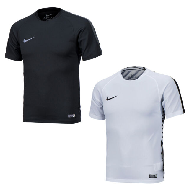 Nike 2016 Neymar GPX Asian Fit Training Short Sleeve Tee Shirts Black , White