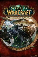 "WORLD OF WARCRAFT POSTER ""MISTS OF PANDARIA"" cover LICENSED ""BRAND NEW"""