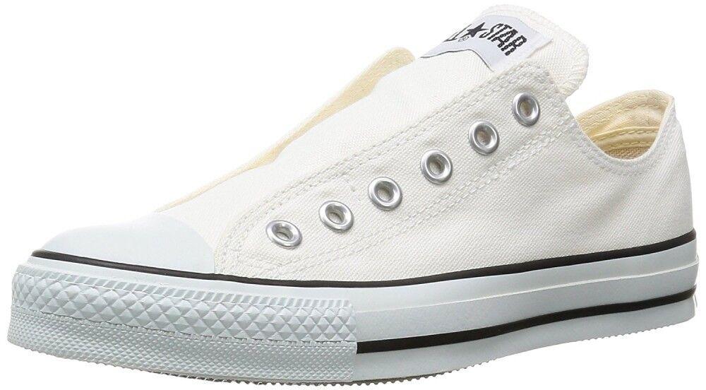 Converse All Star Slip III Ox Slip-On Baskets chaussures hommes blanc avec suivi