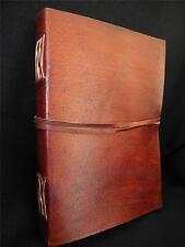 Vintage Look Handmade Leather Sketchbook Diary Journal - Cartridge Art Paper