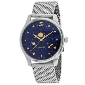 d1aabe8b903 Gucci G-timeless Blue Motifs Dial Men s Watch YA126328 for sale ...