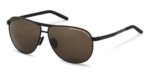 92f9602007 Porsche Design P8642 a 62mm Black   Brown Sunglasses for sale online ...