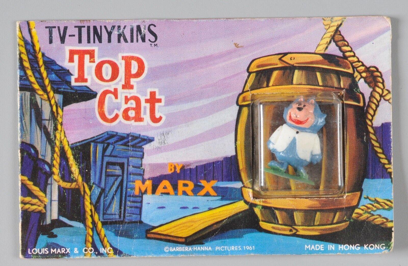 1961 Marx TV Tinykins Postcard Figure Benny Top Cat TV Show