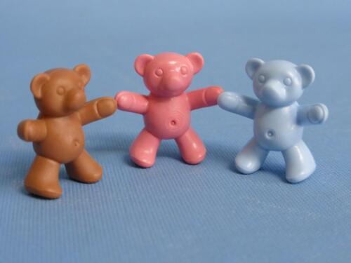 Playmobil Three Teddy Bears Teddies Teddys house park school toys NEW