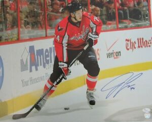 4e23656909b Image is loading John-Carlson-Capitals-Signed-Autographed-16x20-Color-Photo-