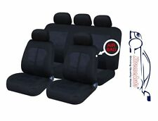 9 PCE Kensington Woven Design Full Set of Car Seat Covers for All Daewoo