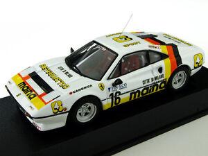 Ferrari 308 Gtb 2 ° Rallye Dei Laghi 1984 9457 1/43 Bang Fabriqué En Italie