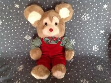 "VINTAGE 80's BOY MOUSE SOFT PLUSH COMFORTER TOY  22"" TALL"