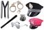 POLICE ACCESSOIRES COSTUME ROBE FANTAISIE CHAPEAU COP jarretelles Menottes lunettes UK