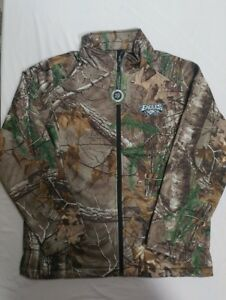 size 40 6058f 46d51 Details about L Mens NFL Philadelphia Eagles Camouflage Soft Shell Jacket