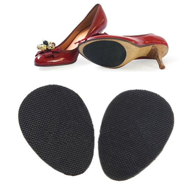 10pairs Self-Stick Sole Protector Pad Shoe Bottom Anti Slip Heel Cover Black