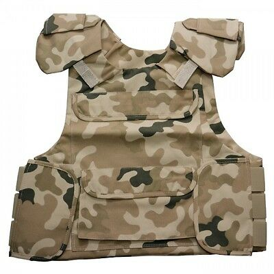 Tactical Military Vest SWAT Police ASG Airsoft Woodland Polish Army Paintball