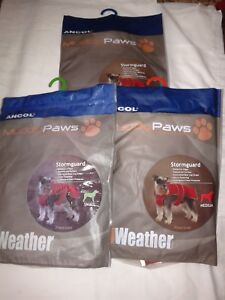 Ancol-Muddy-Paws-Stormguard-Red-all-weather-Dog-Coat