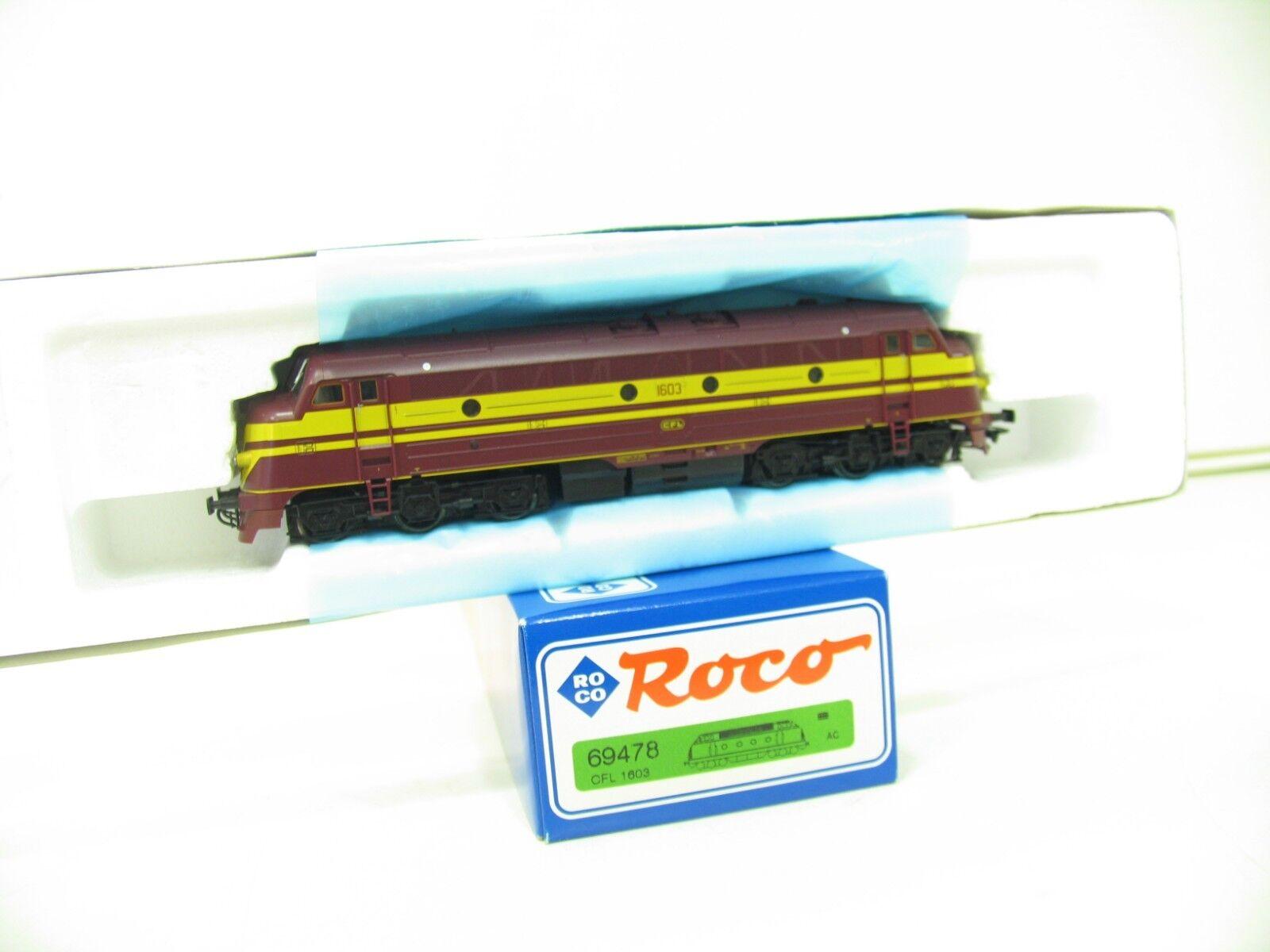 Roco 69478 diesellok serie 1603 CFL CFL CFL AC número   sonido nl315 67a