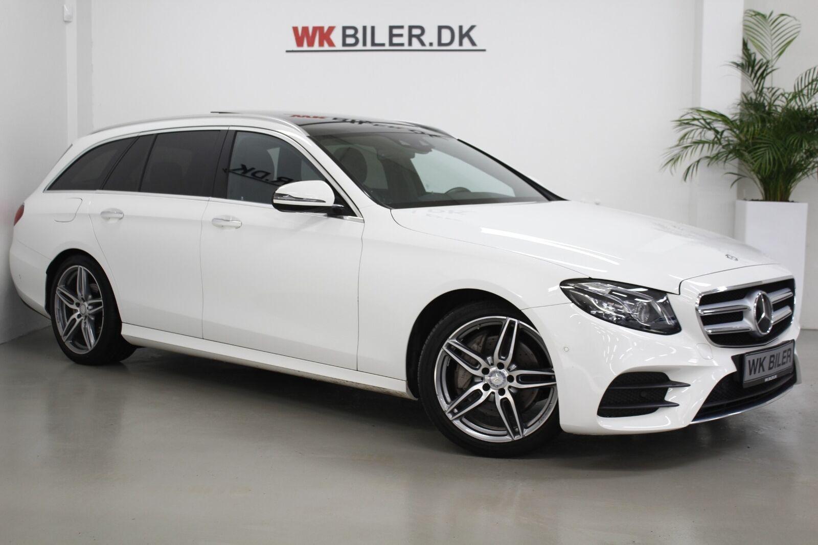 Mercedes E220 d 2,0 AMG Line stc. aut. 5d - 2.495 kr.