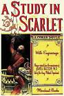A Study in Scarlet - Illustrated by Sir Arthur Conan Doyle (Paperback / softback, 2013)