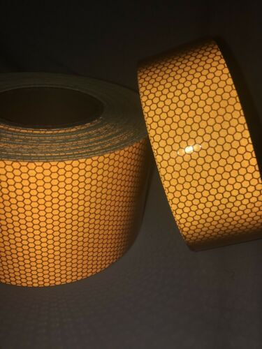 Safety Warning Reflective Tape High Intensity Hi Vis DIY Vinyl Self-Adhesive