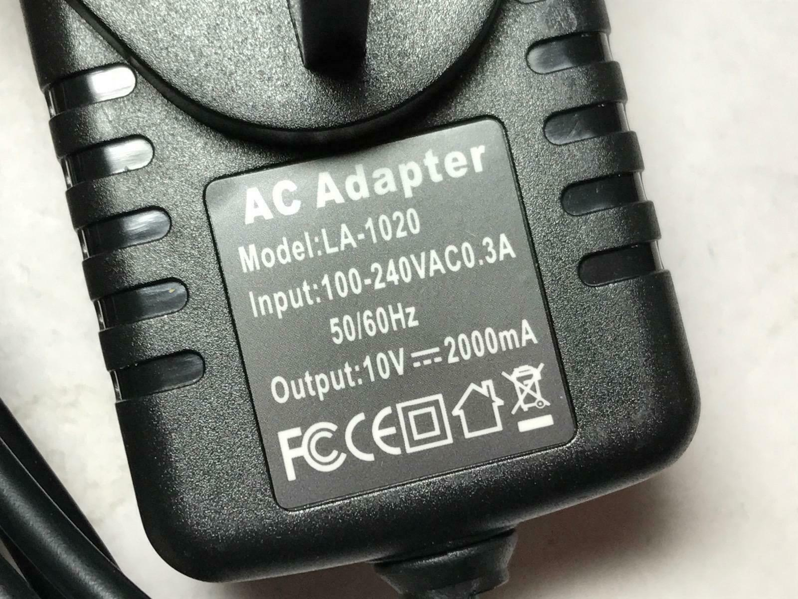10V 2A AC-DC Adaptor Power Supply for Philips Fidelio DS3205/05 Docking Station