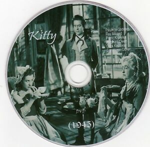 Kitty 1945 dvd comes in a plastic sleeve and dvd printed on - Rotherham, United Kingdom - Kitty 1945 dvd comes in a plastic sleeve and dvd printed on - Rotherham, United Kingdom