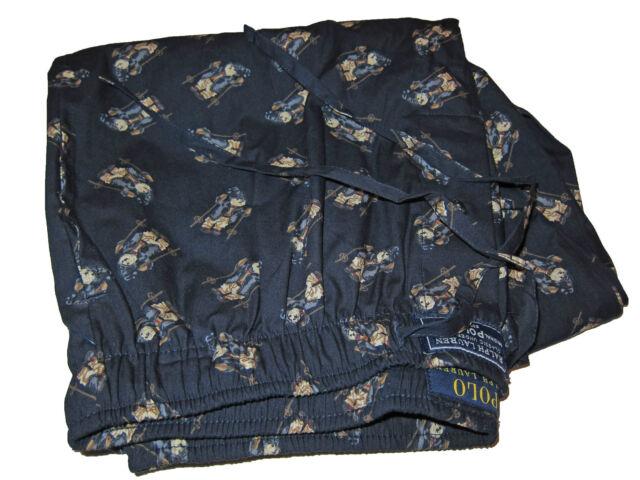 L Polo Alpine Ski Navy Sleepwear Pajamas Lauren Lounge Pants Ralph Blue Bear LqpGUzSMV