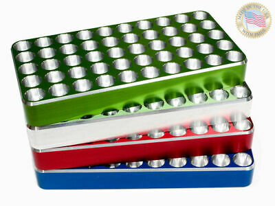 308 Winchester 30 06 Reloading block Tray CNC Solid Billet Aluminum By JoferUSA