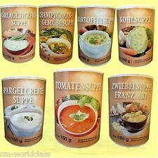 Diät Suppen 4 Dosen 7 Sorten zur Auswahl ohne Glutamat + Geschmacksverstärker