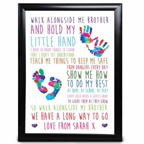 Walk Alongside Me Auntie Personalised Keepsake Aunty Gifts Birthday Gift Print