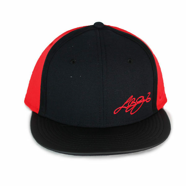 30fe14619a992 Nike Lebron James 13 XII Mens Red Black Snapback Hat 810545 015 for sale  online