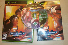 ORIGINAL XBOX FIGHT GAME SVC CHAOS SNK Vs. CAPCOM +BOX INSTRUCTIONS COMPLETE PAL