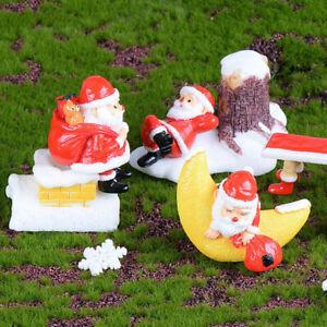 Santa-Claus-DIY-Mini-Miniature-Figurine-Christmas-Garden-Decor-Micro-Landscap-ti