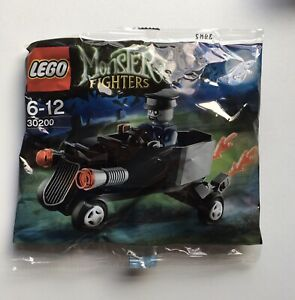 Lego-Monster-Fighters-30200-Zombie-Chauffeur-Coffin-Car-Poly-Bag-New-amp-Sealed-X1