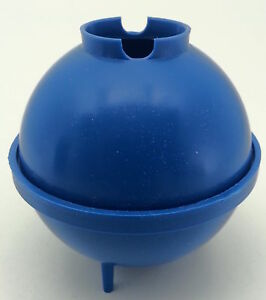Round-ball-plastic-candle-mould-Make-sphere-candles-includes-stick-peg-amp-putty