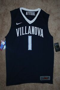 e36cab934 NEW Men s  1 Villanova Wildcats Nike Elite Navy NCAA Basketball ...