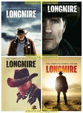 Longmire - Complete DVD Series Seasons 1 2 3 & 4 Brand New Sealed 1-4 Free Ship