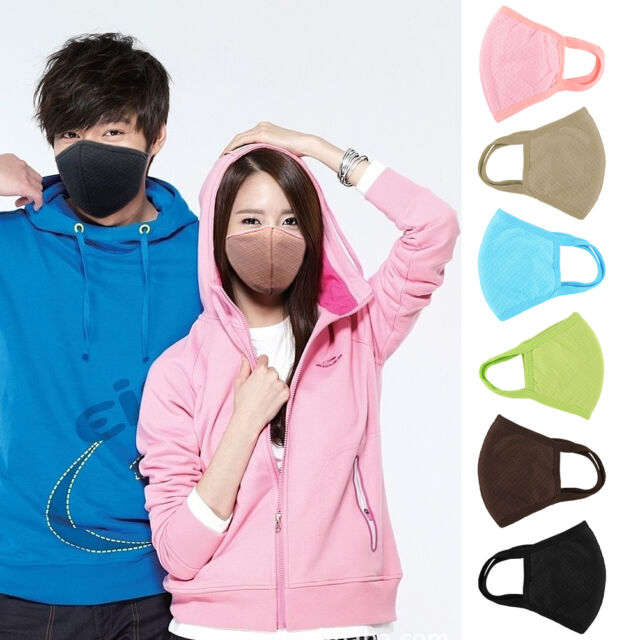 New Fashion Unisex Health Cycling Anti-Dust Cotton Mouth Face Masks Respirators