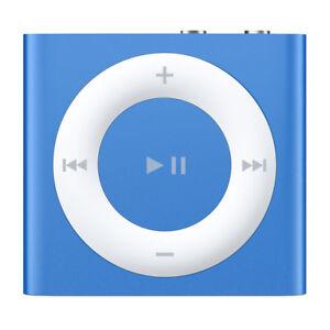 Apple iPod Shuffle 4th Generation 2GB Blue MKME2VC/A