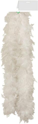 New Ladies 150CM High Quality Feather Boa 20s Flapper Hen Night Fancy Dress50gm