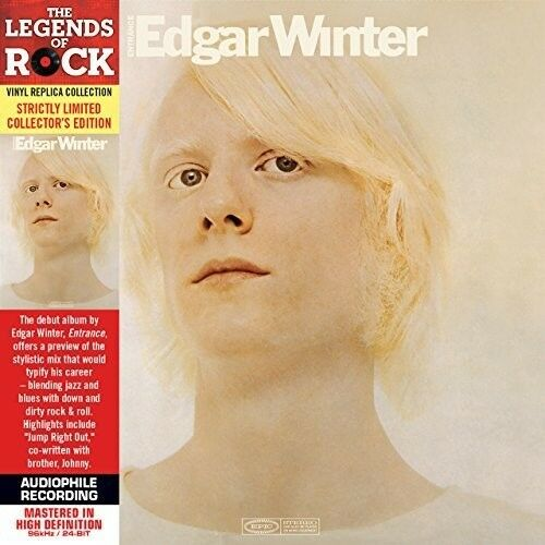 Edgar Winter - Entrance [New CD] Ltd Ed, Mini LP Sleeve, Rmst, Collector's Ed
