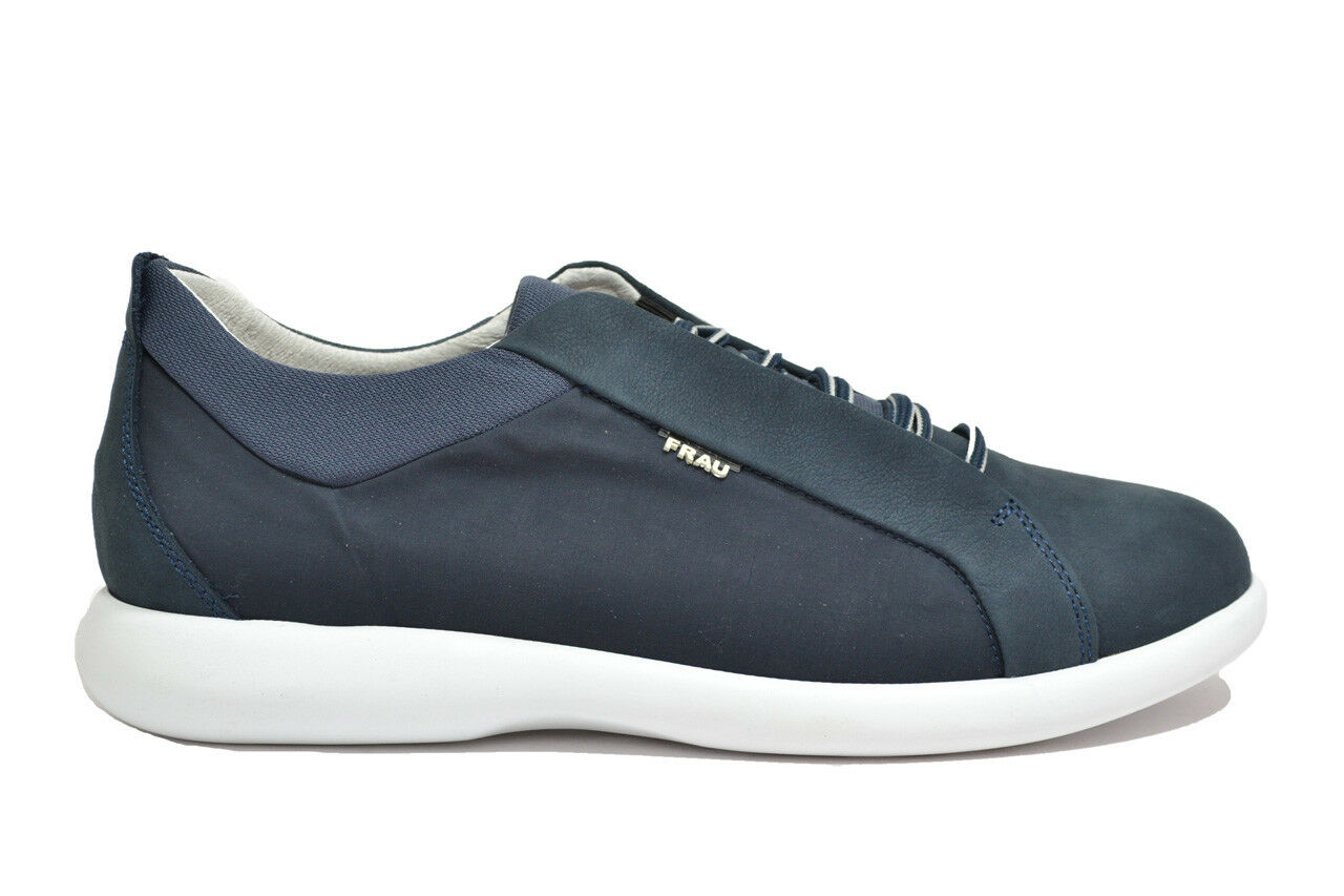 FRAU scarpe Sneakers scarpe FRAU uomo blu mod. 27G6 1f8b10