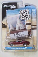 GREENLIGHT 1965 FORD MUSTANG GT ROUTE 66 - CALIFORNIA WIGWAM HOTEL BEAUTIFUL CAR