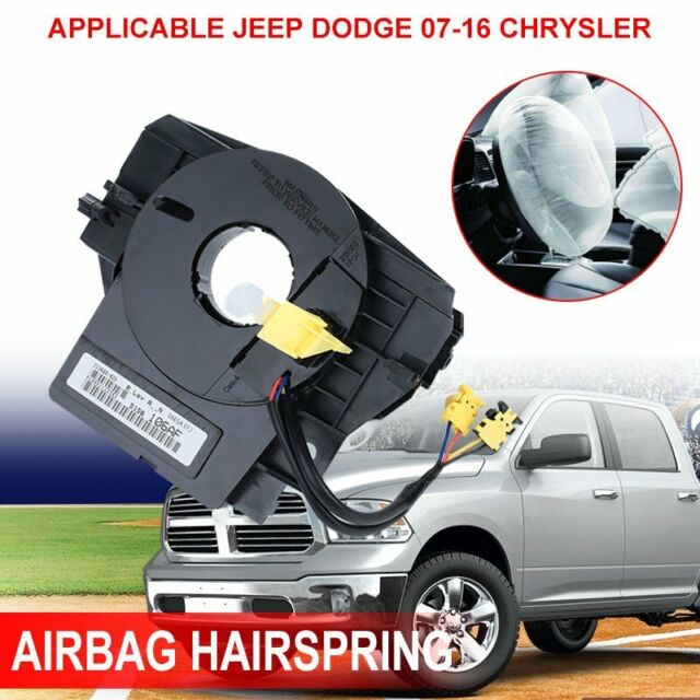 Steering Wheel Spiral Cable Airbag Clock Spring For 07 16 Chrysler Jeep  Dodge**