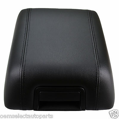 NEW OEM 04-08 Ford F-150 Black Leather Center Console Arm Rest 5L3Z1506024AAC