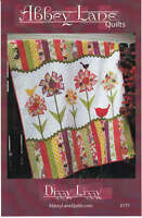 DIZZY LIZZY QUILT QUILTING PATTERN, Use Fat Quarters From Abbey Lane Quilts NEW