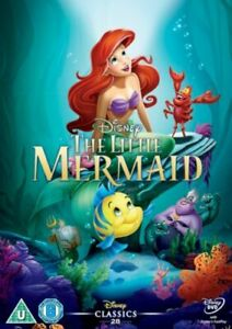 THE-LITTLE-MERMAID-DISNEY-DVD-WHITE-CLASSICS-NUMBERED