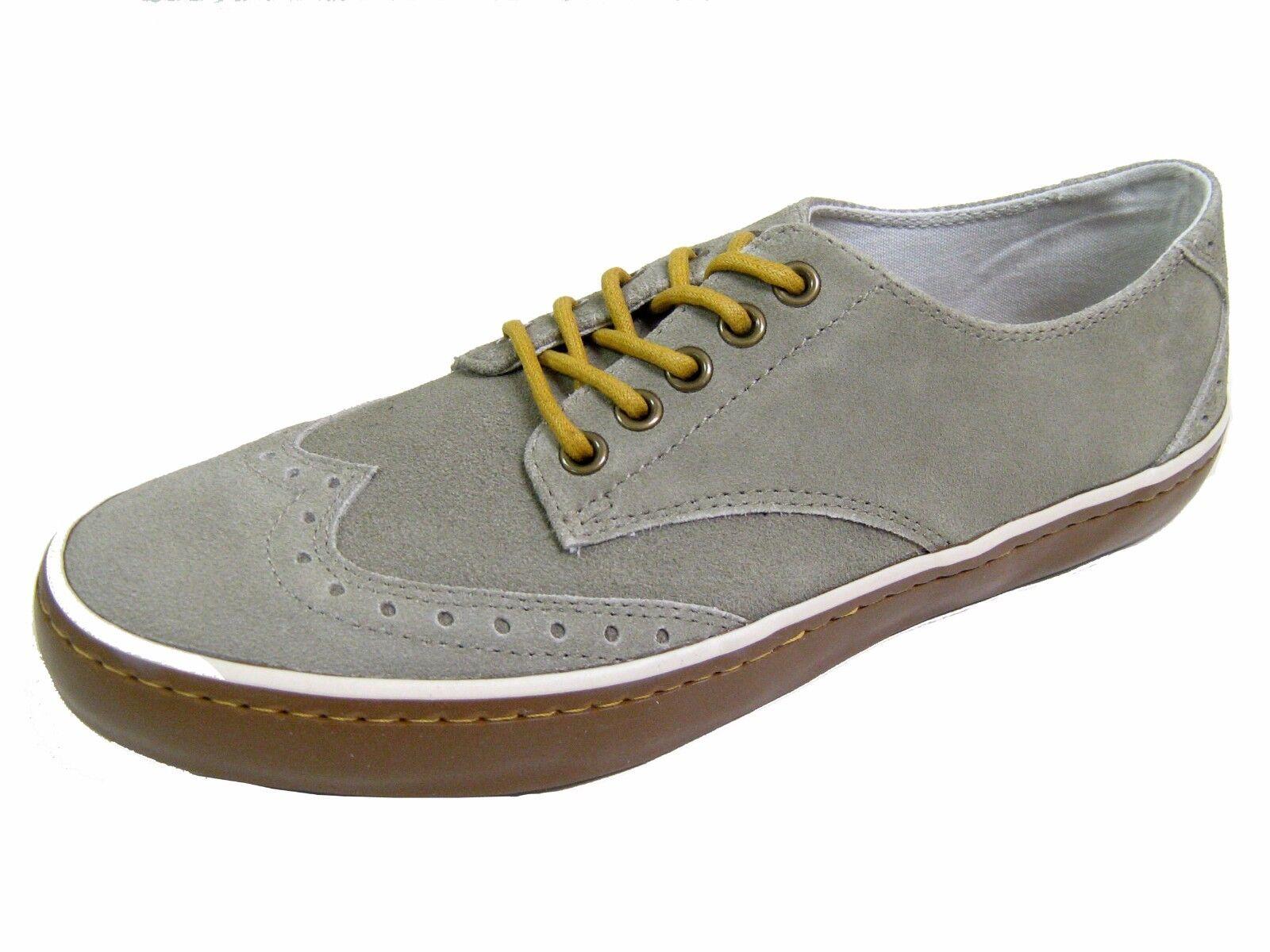 Original Penguin Men's shoes Espy WT Khaki Suede Wingtip Fashion shoes Size 9