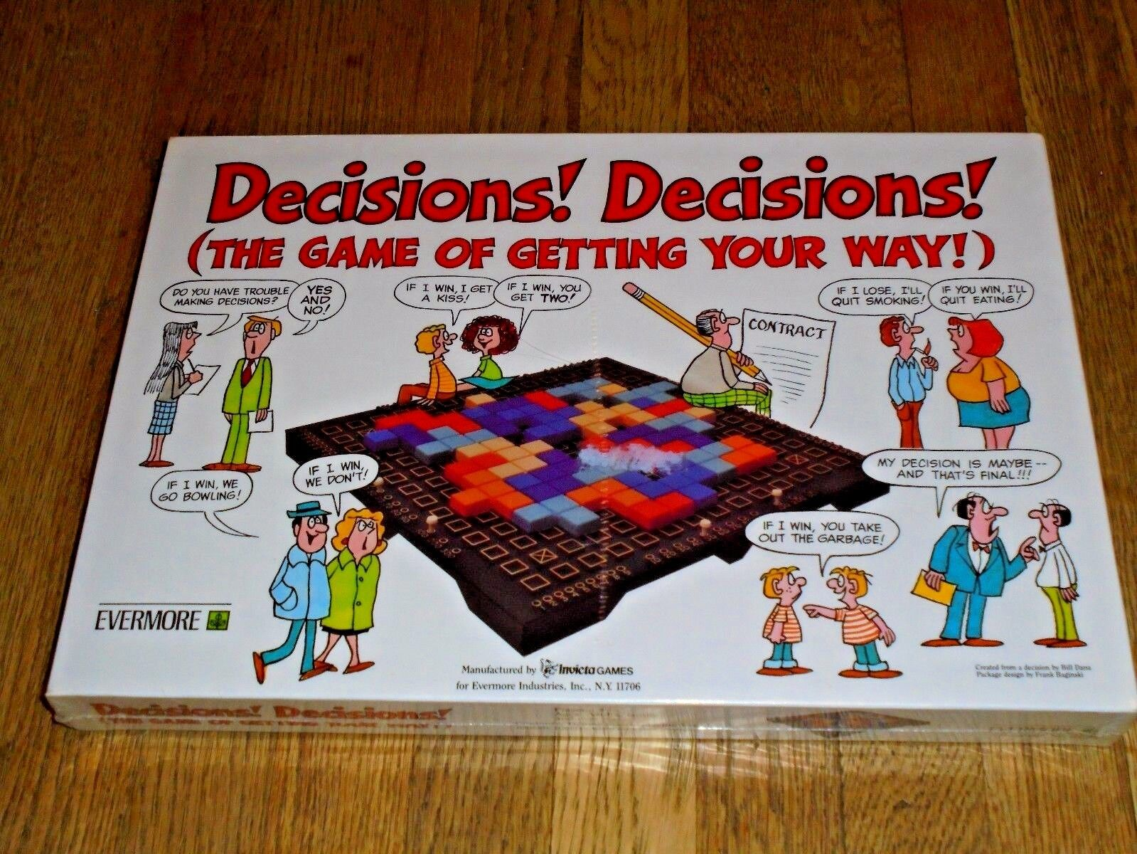 Decision  Decisions  (the Game of Getting Your Way)  - Evermore Invicta, 1983