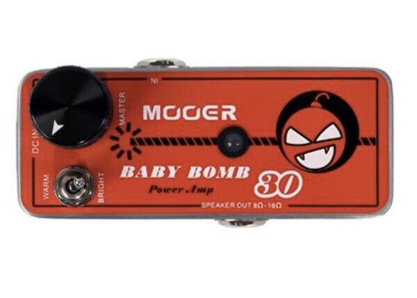 Mooer Audio Baby Bomb 30 Digital Micro Power Amp. Buy it now for 94.05